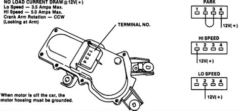 85 Chevy Truck Wiper Wiring Diagram by Technical S10 Blazer Rear Wiper Motor The H A M B