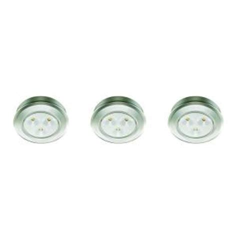 battery operated lights home depot commercial electric 2 99 in led silver battery operated