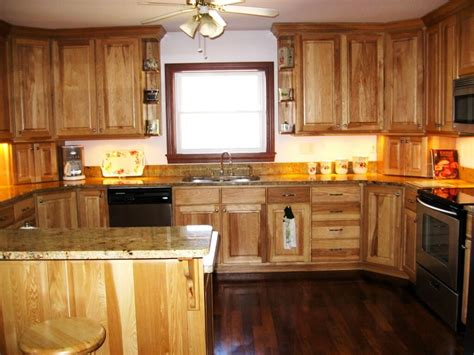 Lowes Hickory Cabinets by Installing Hickory Kitchen Cabinets Loccie Better Homes