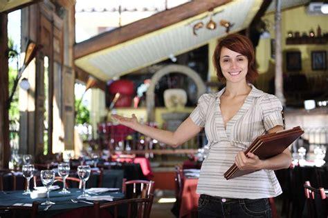 seating and your guests restaurant cafe hostess more than just greet and seat Restaurant
