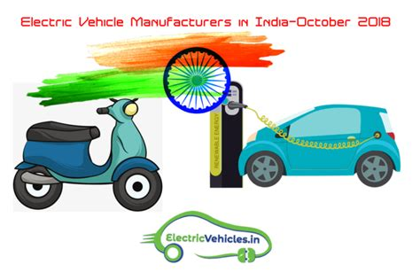 Electric Vehicle Manufacturers by Electric Vehicles Manufacturers In India October 2018