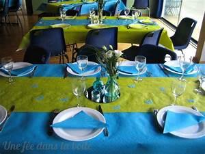 deco table bleu turquoise vert anis With association de couleurs avec le bleu 9 decoration de table ete table fete mariage et