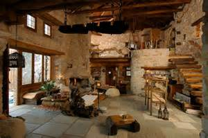 Load Bearing Wall In Basement by Traditional Stone House For A Way Of Life Simple And