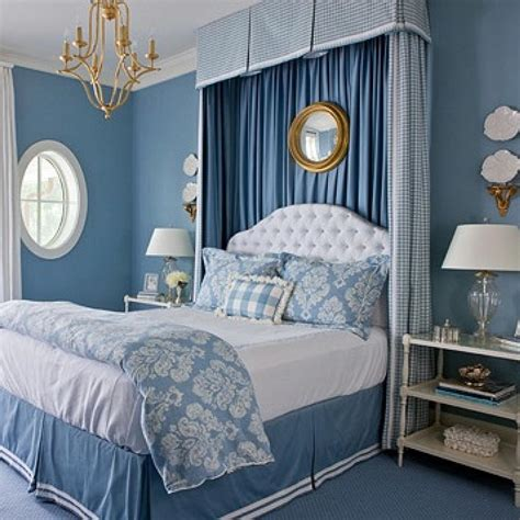 Bedroom Design Ideas Blue Walls by Beautiful Blue Bedrooms Traditional Home