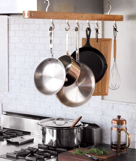 kitchen storage ideas for pots and pans best 25 hanging pots kitchen ideas on hanging 9836