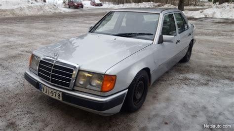 Maintained mercedes benz e 200.lim. Mercedes-Benz 200 E 124 Porrasperä 1992 - Vaihtoauto - Nettiauto