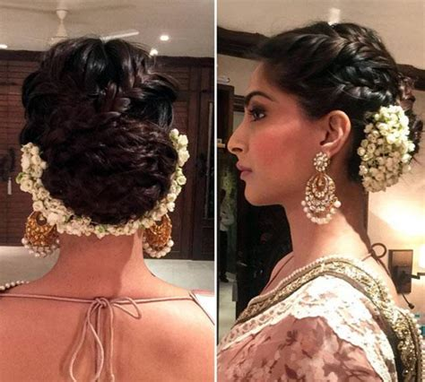 different bun styles for hair hairspiration six ways to update your hair like sonam 2356