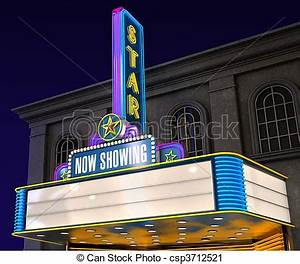 Movie Theater Building Clipart
