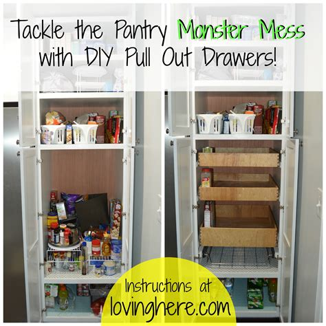 Diwyatt Building Pull Out Pantry Drawers Loving Here