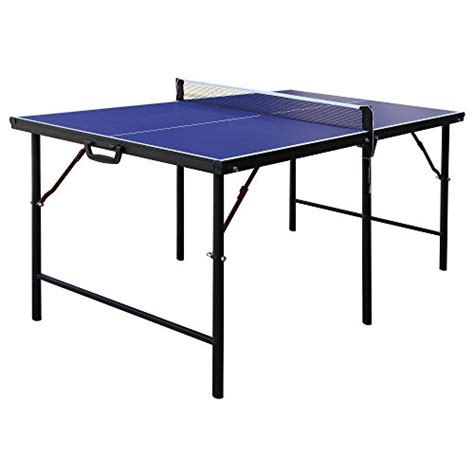 compact ping pong table hathaway crossover portable table tennis table 60 inch