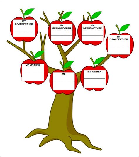 Family Tree Templates For Mac by 50 Family Tree Templates Sle Templates