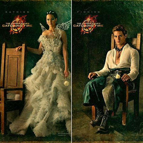 catching fire movie character posters popsugar celebrity
