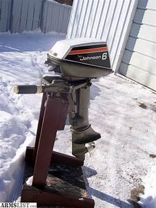 Armslist  Trade  Clean  Johnson 6hp Outboard