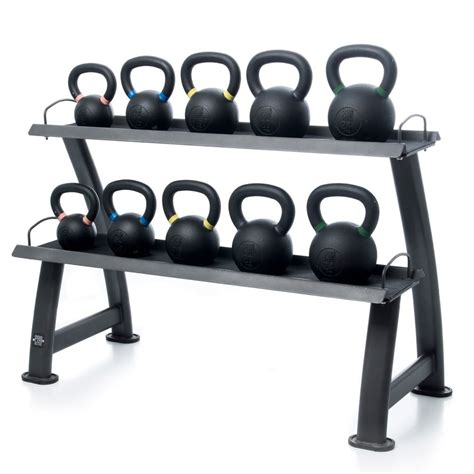 kettlebell rack pro active oval fitness kettlebells gym storage functional proactive frame holds racks equipment