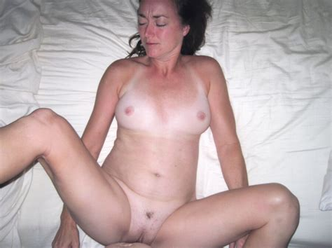Mature Brunette Wife Hotel Room Naked Sex Thong Fuck