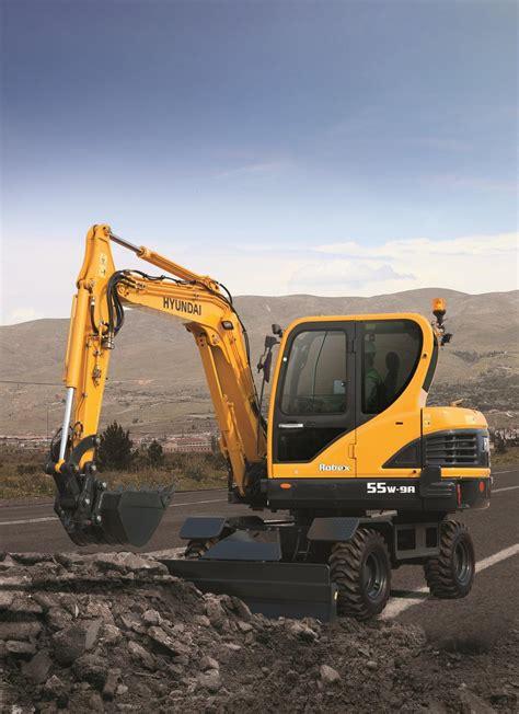 hyundai construction launches  mini excavators