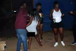 Shocking Photos  Women Open Up Their Private Parts For Men In Exchange For Beer