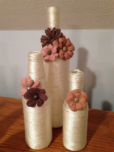 covered wine bottles wine bottles pinterest bottle
