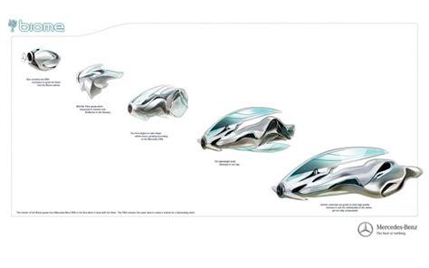 mercedes benz biome inside mercedes benz biome concept car body design