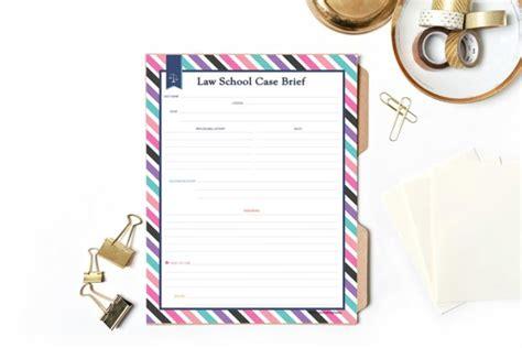 law school case brief school brief fill in printable by colorcodingthebar