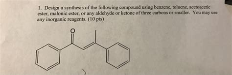 Which Of The Following Was Used To Decorate Islamic - solved design a synthesis of the following compound using