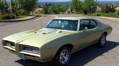 Pontiac Car : 1968 Pontiac Gto For Sale Near Damascus, Oregon 97089