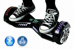 White Light Up Hoverboard Smart Self Balance Scooter Hoverboard Led And Additional
