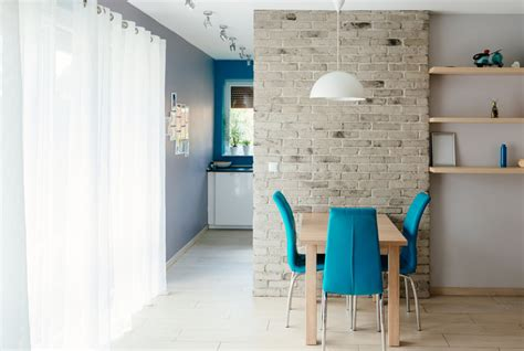 Steinwand Im Esszimmer » Schöne Gestaltungsideen