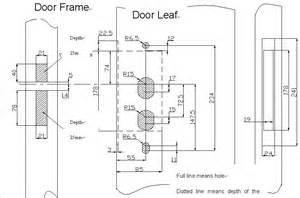 ygs 1079 12v electric commercial door lock buy