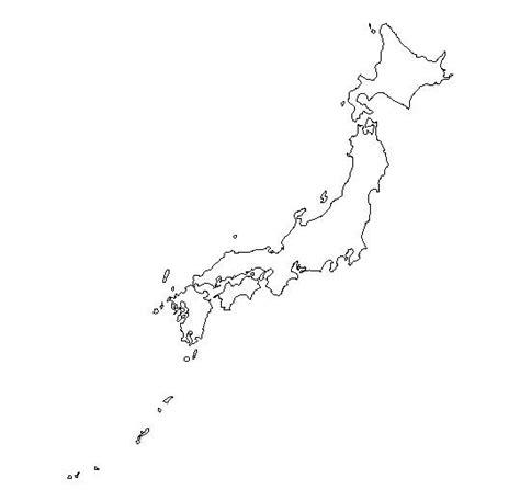 blank outline map  japan schools