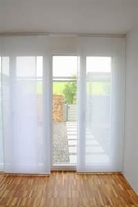 Flächenvorhang 80 Cm Breit : fl chenvorhang transparent weiss 60cm 80cm 120cm breit ~ Buech-reservation.com Haus und Dekorationen