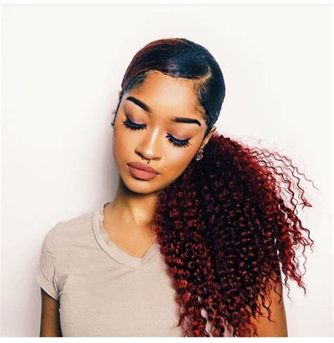 25 best ideas about weave ponytail on pinterest weave