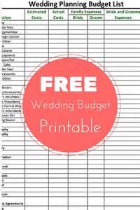 free wedding planner free wedding planning budget checklist printable autry creations