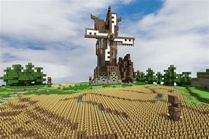 minecraft medieval windmill