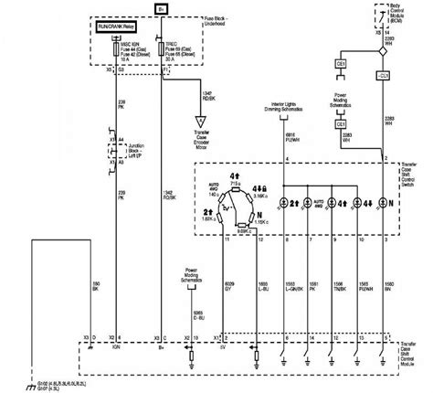 2011 Gmc Trailer Light Diagram by I Need A Wiring Diagram For The Four Wheel Drive Circuit