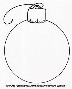 Holiday Ornament Template   Christmas Templates ...
