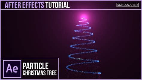Particle Christmas Tree Animation