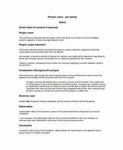 project overview template 8 free word document With document management system overview