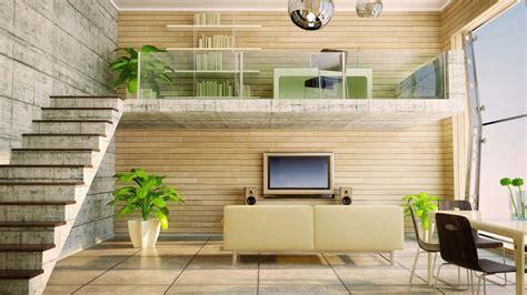 stone  wood mix home interior design hd architecture