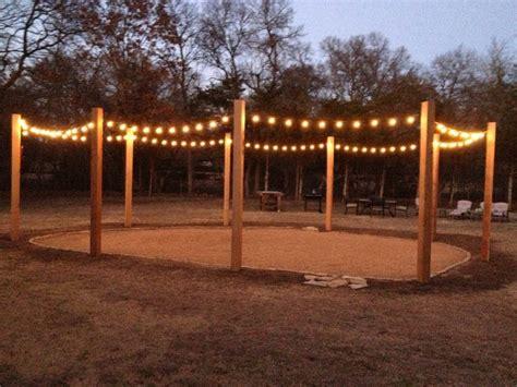 xx cedar posts turned   string light patio