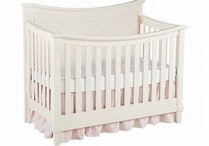 Jaclyn Place Ivory Crib - Cribs White