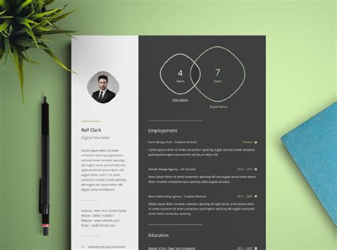 20419 infographic resume template infographic resume template