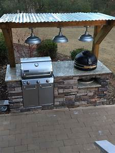 Outdoor, Grill, -, Stacked, Stone