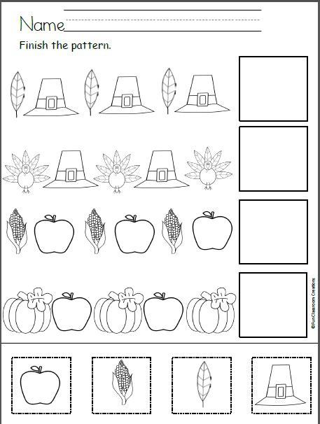 free thanksgiving patterns cut and paste ms olalia prek