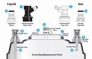 Corny Keg Replacement Parts  U2014 Keg Factory