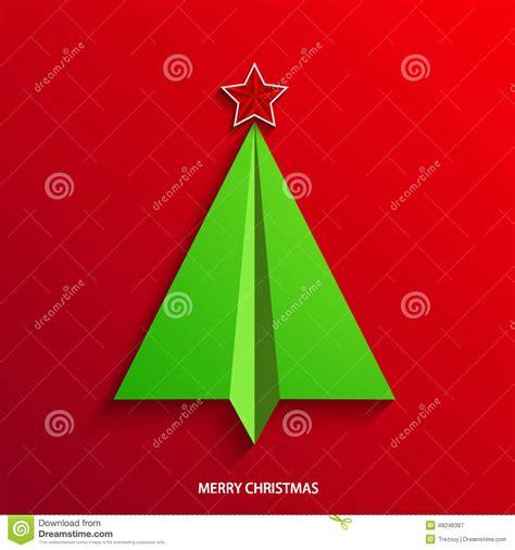 vector concept christmas tree  airplane stock vector