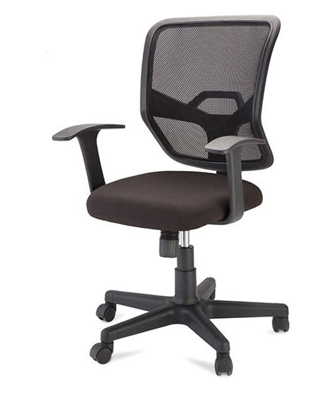 nilkamal ertiga midback mesh chair black buy nilkamal