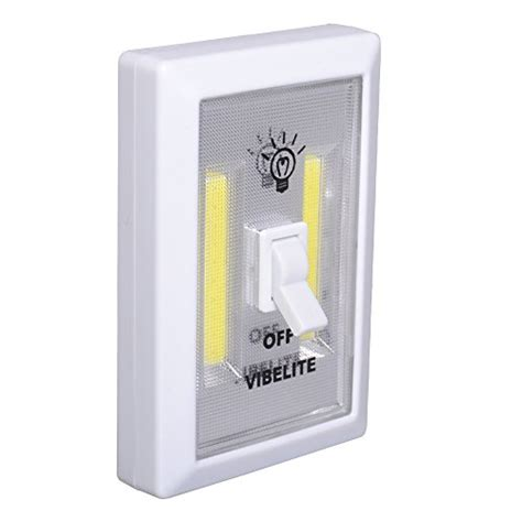 cob led wall switch lights emergency battery operated
