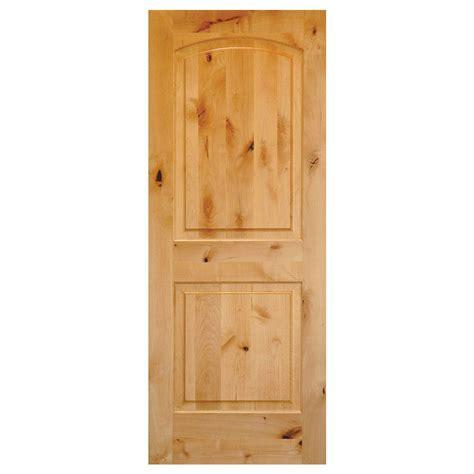 home depot 2 panel interior doors krosswood doors 30 in x 80 in rustic knotty alder 2
