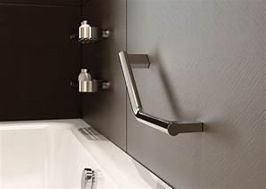 Image Of Lux Angled Bathroom Grab Rail